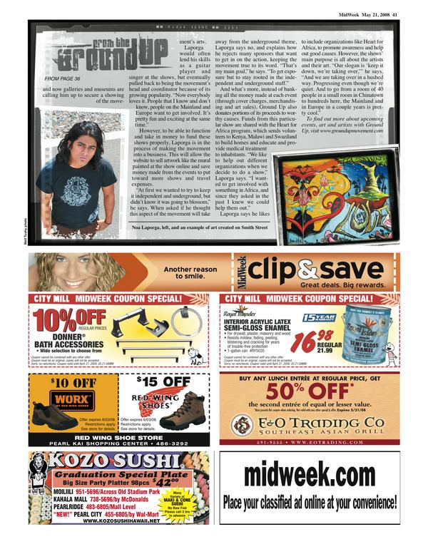 Check Out The More Like This: Noa / GroundUP In Midweek