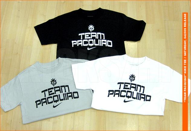 3d376ee80803 Team Pacquiao shirts at Kicks HI