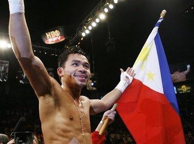 Diaz Pacquiao Boxing