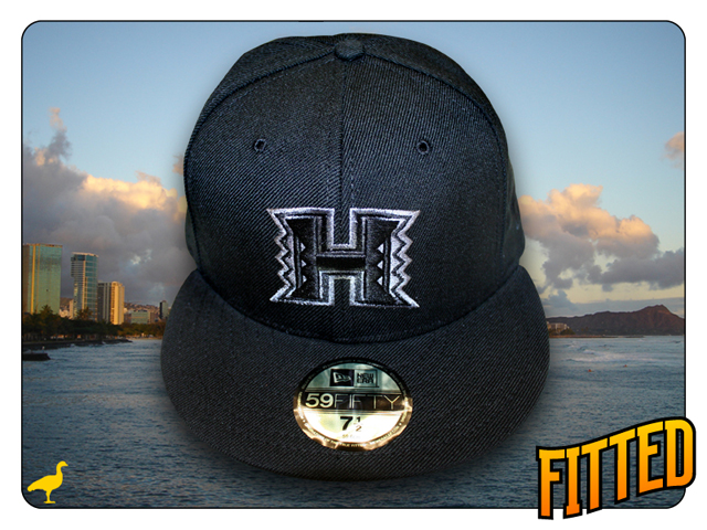 """WEB EXCLUSIVE: Fitted Hawaii """"Ceremony"""" shirt and UH New Era"""