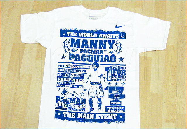 New pacquiao shirts at kicks hi for Manny pacquiao nike t shirt